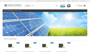 SENSO-ENERGY Webshop online!